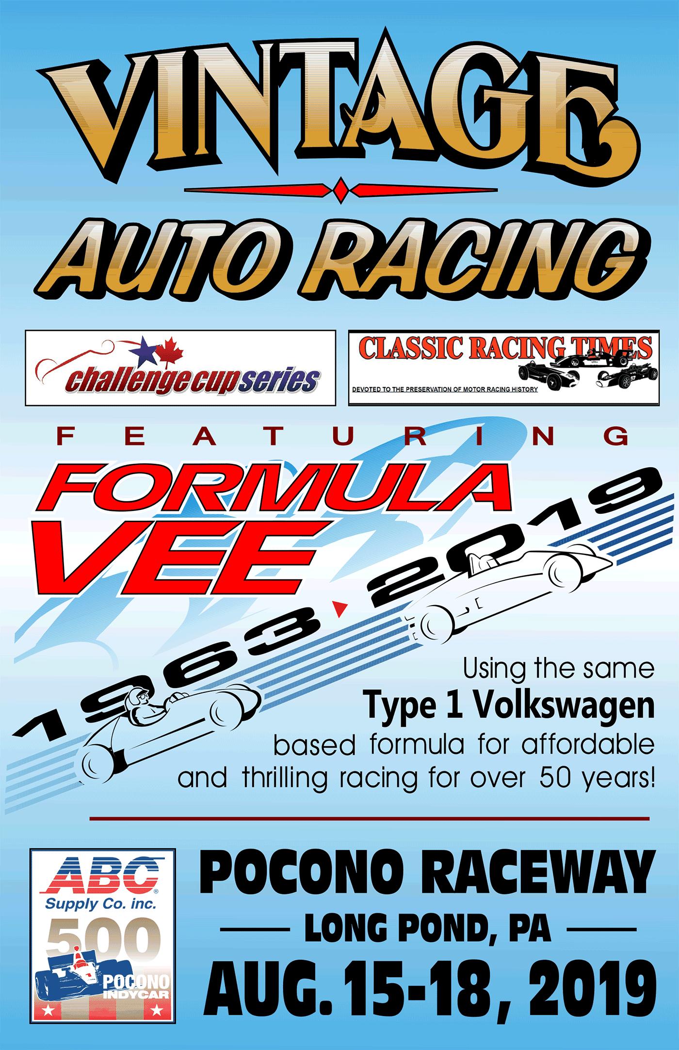 Vintage Auto Racing 2019