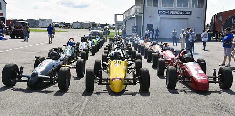 CCS Line Up at Pocono Raceway