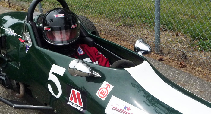 Driver Tim Sager
